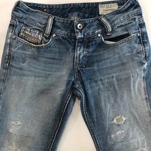 Diesel Distressed Louvely Jeans